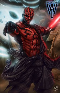 Darth Maul by wizyakuza.deviantart.com on @deviantART