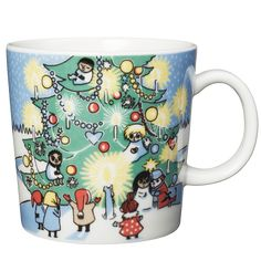 Moomin Mugs from Arabia – A Complete Overview Moomin Mugs, Tove Jansson, Christmas Mugs, Finland, Illustration Art, Illustrations, Tableware, Cute, Design