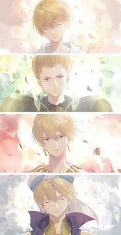Four stages of Gil Gilgamesh Fate, Gilgamesh Anime, Gilgamesh And Enkidu, Anime Guys, Manga Anime, Anime Art, Fate Zero, Zero Wallpaper, Fate/stay Night