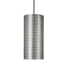 "Grid Cylindrical Pendant Light by George Kovacks YLighting $116 // 15""x6"""