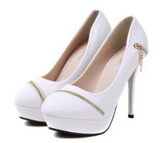 elegant Get Her Zipped Stiletto Heels  Stiletto Heels from stylishplus.com