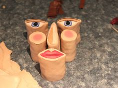 How to make a face cane with polymer clay...by tooaquarius