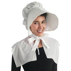 White Bonnet - OrientalTrading.com