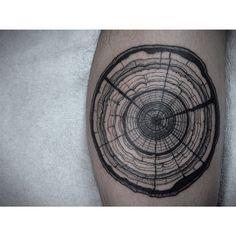 Tree trunks all day   James Tran, Full Circle Tattoo, San Diego CA
