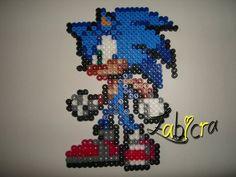 sandylandya@outlook.es Sonic hama perler by zabicra