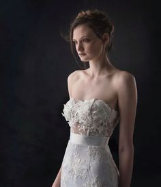 South African Wedding Designer White Dress Lace