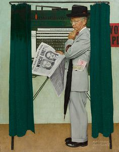 Norman Rockwell at the Polls | Sotheby's
