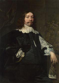 Bartholomeus van der Helst, Portrait of a Man in Black holding a Glove - 1641, The National Gallery, London.