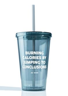 Jac Vanek Burning Calories Drink Tumblr