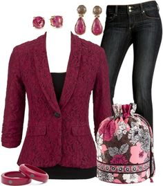"""Vera Bradley Ditty Bag"" by stay-at-home-mom on Polyvore"