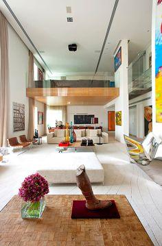 A luxury dwelling. Sao Paulo-based studio Fernanda Marques Arquitetos Associados