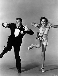 Gene Kelly & Debbie Reynolds, 1952.