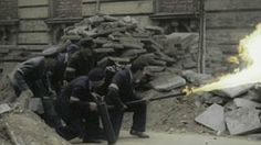 Warsaw Uprising in colour: Black and white photos turned into incredible feature movie   Mail Online
