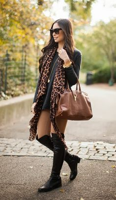 Street Style Trend: 6 Ways To Wear Over-The-Knee Boots