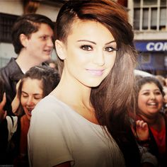 Cher Lloyd's hair is so cute. Makes me want to shave half of my head too! Seriously.