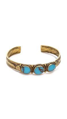 stone cuff bracelet / sunhara malibu