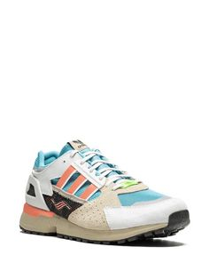 Adidas ZX 10,000 C Sneakers - Farfetch Adidas Zx, Adidas Sneakers, Ethical Brands, Yoga Gym, Supply Chain, Women Wear, Lace Up, Adidas Shoes