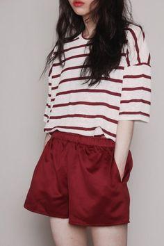 korean fashion trends that looks great. Fashion Moda, Look Fashion, Girl Fashion, Fashion Outfits, Fashion Ideas, Fashion Clothes, Trendy Fashion, Fashion Photo, Fashion Design