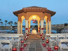 Lakeside at the Westin Lake Las Vegas provides a stunning waterfront location for a sunset ceremony or cocktail reception amid sparkling fountains and fire pits, surrounded by views of the water and mountains. See more venues here: http://trib.al/yHxaxtG