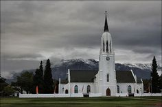 Church in winter (Worcester, Western Cape Church Architecture, Amazing Architecture, Provinces Of South Africa, Church Building, Beaches In The World, Most Beautiful Beaches, Place Of Worship, Africa Travel, Around The Worlds