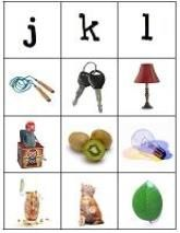 Consonant Cards ~ identify  the beginning consonant  sounds in words