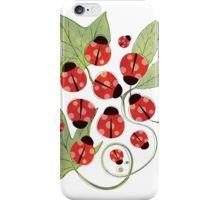Ladybugs by Paperdose iPhone Case/Skin