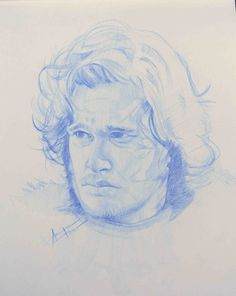 Kit Harrington Portrait study