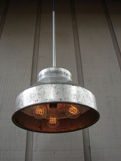 Industrial Pendant Light by BenclifDesigns on Etsy, $176.00