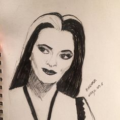 Day Yvonne deCarlo as Lily Munster Lily Munster, Yvonne De Carlo, Sketches Of People, Drawing Practice, Inktober, Portrait, Pretty, Art, Men Portrait