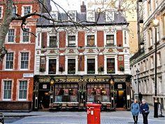Sherlock Holmes probably my favorite pub