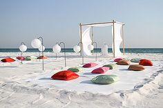 Beach wedding seating - pillows wedding-ideas-for-friends