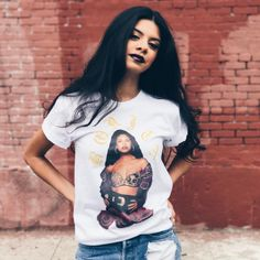 http://www.vivala.com/shopping/latina-graphic-t-shirts/7014/Selena Quintanilla in all of her glory./7