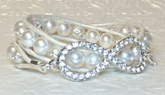 Hey, I found this really awesome Etsy listing at https://www.etsy.com/listing/214603582/crystal-infinity-pearl-wrap-bracelet