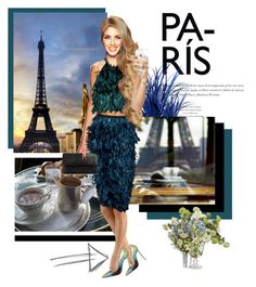 """""""Paris"""" by hsane ❤ liked on Polyvore featuring Qupid and Christian Louboutin"""