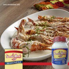 Un fin de semana entre amigos? Sorpréndelos con un aderezo elaborado con mayonesa @siembrareal el toque que tus platillos necesitan!