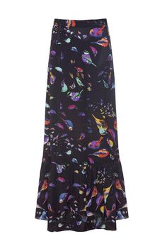 California Dreamin Skirt.bird print maxi skirt - #style