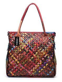 Desigual Sac Rotterdam New Audrey Crossbody Bag, Tote Bag, Best Handbags, Leather Weaving, Leather Fabric, Leather Handbags, Purses And Bags, Messenger Bag, Shoulder Bag