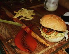 Triple Decker Burger at The Burger Festival in Ci Gusta, Hyderabad