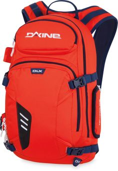 316600c31985f The DAKINE Heli-Pro DLX 20L snow pack carries your ride and a day s worth