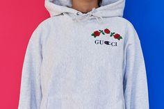 Ava Nirui Gucci Champion Hoodie