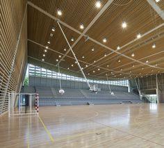 Monconseil Sports Hall by Explorations Architecture; Tours, France