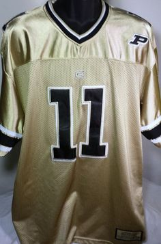 #PurdueBoilermakers Football Mens Size Large Colosseum Jersey #ColosseumAthletics #PurdueBoilermakers