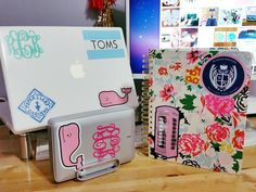 How to Score FREE Preppy Stickers from Your Favorite Brands Free Preppy Stickers, Free Stickers, Southern Charm Clothing, Brand Stickers, Stationary School, Lauren James, Southern Marsh, White Letters, Disney Cruise