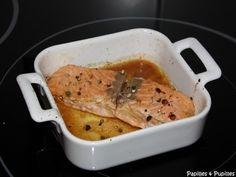 Saumon laqué sauce soja