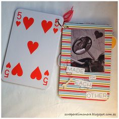 Scraperalimonera: Paseando por el Borne #scrapbooking #minialbum #sizzix #handmade