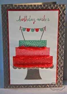 Build a Birthday by Tephie - Cards and Paper Crafts at Splitcoaststampers