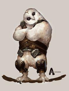 Animal Kingdom #17, Dae hoon Lee on ArtStation at https://www.artstation.com/artwork/XDYl0