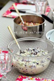 Heidi's Matkrok: DRUESALAT - lett variant Brunch, Breakfast, Food, Roast Beef, Morning Coffee, Eten, Meals, Morning Breakfast, Brunch Party