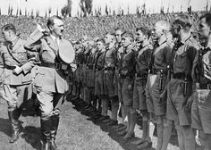 Adolf and his Hitlerjugend