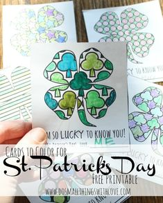 St. Patrick's day Coloring--FREE PRINTABLE